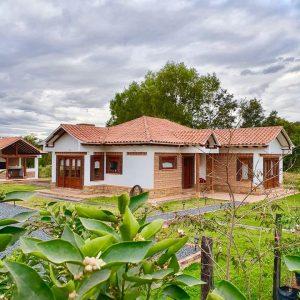 Cabaña Casa de las Flores Villa de leyva