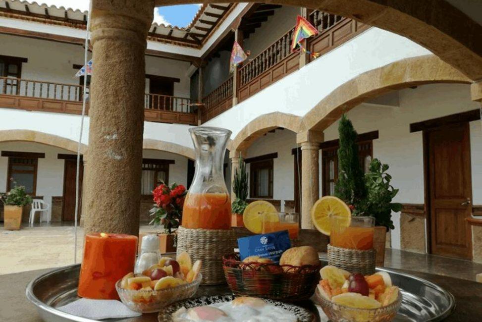 Hotel Gran Sirius Villa de Leiva, Sachica